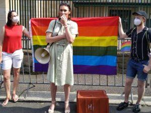 Lenka Králová uvažuje o tom, že by na Zemana ze strany transgender komunity mohla mířit žaloba
