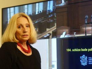 Poslankyně Olga Sommerová navrhuje odvolat Hanu Lipovskou z Rady České televize a Josefa Nerušila z Rady Českého rozhlasu, neboť kandidují ve sněmovních volbách, což je neslučitelné s pozicí v radě médií veřejné služby