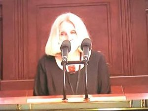 Olga Sommerová vyzvala poslance k ratifikaci Úmluvy Rady Evropy o prevenci a boji proti násilí na ženách a domácímu násilí