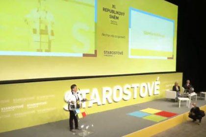 Projev předsedkyně LES Džamily Stehlíkové na celostátním sněmu Starostů a nezávislých v Praze 31. srpna 2021