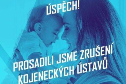 Poslankyně Olga Sommerová hlasovala pro zrušení kojeneckých ústavů a pro možnost svěření dítěte do pěstounské péče nesezdaným lidem. Poslední návrh nebyl schválen