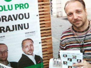 Předseda brněnské organizace LES a odborník na říční revitalizaci David Veselý je na 10. místě kandidátky SPOLU pro Moravu v Jihomoravském kraji